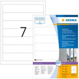 HERMA αυτοκόλλητες ετικέτες 192x38 100Φ A4 No. 4283