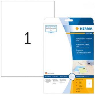 HERMA αυτοκόλλητες ετικέτες TR 210 Χ 297 25Φ No. 4375