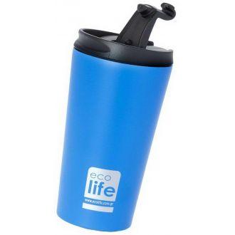 Ecolife coffee thermos 370ml  Sky Blue matt 33-BO-4012