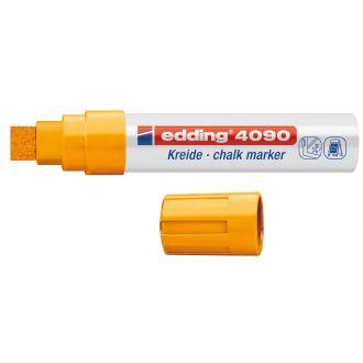 edding 4090 Μαρκαδόρος κιμωλίας 4-15mm  πορτοκαλί 01.4090/66