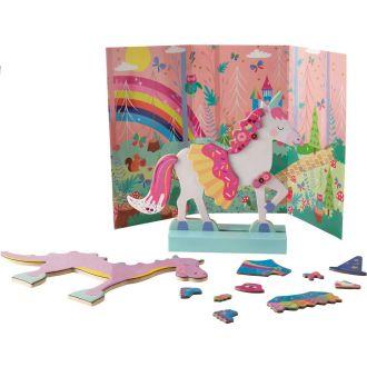 Floss and Rock Magnetic Fantasy Dress Up - Unicorns 40P3550