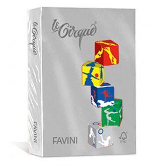 Favini Le Cirque Χρωματιστό χαρτί A4 80gr 500 Φύλλα Grigio (109)