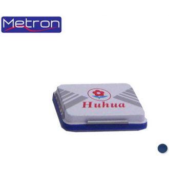 Metron Ταμπόν σφραγίδων Huhua Νο3 (7x10cm) Μπλέ