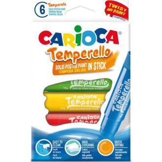 Carioca τέμπερες σε stick temperello 6τμχ.