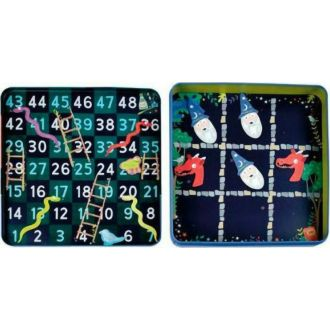 Floss and Rock Magnetic Fun and Games - 4in1 tin  - Magician 42P6312