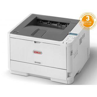 OKI Εκτυπωτής Laser A4 B432dn Monochrome