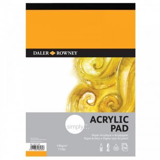 Daler Rowney Simply Acrylic pad A3 190gr 16 Φύλλων (436731300)