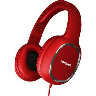 Toshiba Αακουστικά overear headset Red (RZE-D160H-RED)