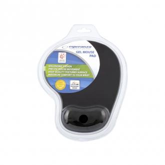 Esperanza Mouse pad Gel EA-137K Μαύρο