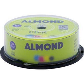 Almond CD-R 52x 700MB Cake 25τμχ