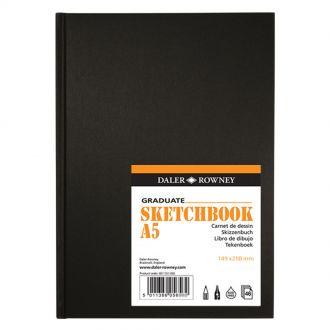Daler Rowney Graduate Scetchbook A5 46 Φύλλων Hardboard (481750500)