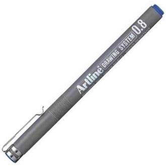 Artline Μαρκαδόρος σχεδίου 0.8mm Μπλε (EK-238)