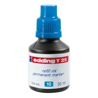 edding Τ-25 Ανεξίτηλο μελάνι 30ml Γαλάζιο