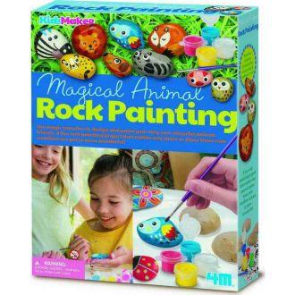 4Μ magical animal rock painting 4756