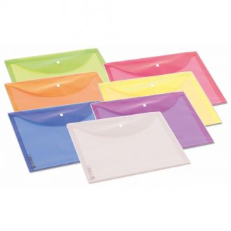 Spree Φάκελος με κουμπί Α4 Διάφορα χρώματα 5-46-03