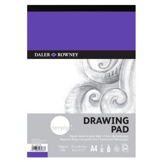Daler Rowney Simply Drawing pad A4 120gr 50 Φύλλων (435931400)