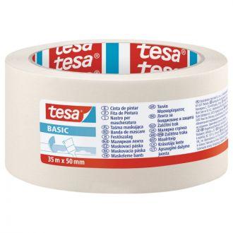 Tesa Basic Χαρτοταινία 50mm x 35m