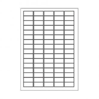 Sorex Αυτοκόλλητες ετικέτες εκτύπωσης A4 35.6x16.9 (5x16) 100 Φύλλων