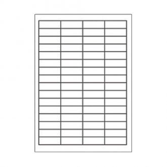 Sorex Αυτοκόλλητες ετικέτες εκτύπωσης A4 48.5x16.9 (4x16)100 Φύλλων