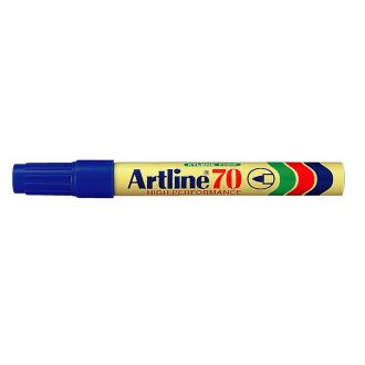 Artline 70 Μαρκαδόρος ανεξίτηλος 1.5mm Μπλέ (EK-70)