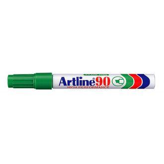 Artline 90 Μαρκαδόρος ανεξίτηλος 2-5mm Πράσινο (EK-90)