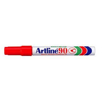 Artline 90 Μαρκαδόρος ανεξίτηλος 2-5mm Κόκκινο