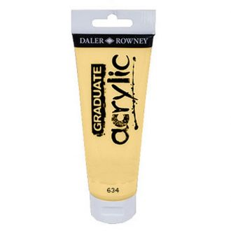 Daler Rowney Graduate Acrylic 120ml Naples Yellow (634)