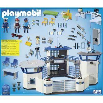 Playmobil 6919 Αρχηγείο αστυνομίας και φυλακή ασφαλείας