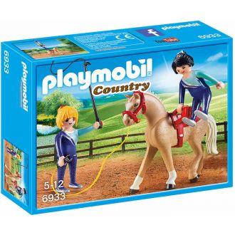 Playmobil 6933 Μάθημα ακροβατικής ιππασίας