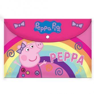 Diakakis Ντοσιέ με κουμπί Α4 Peppa Pig 0482501