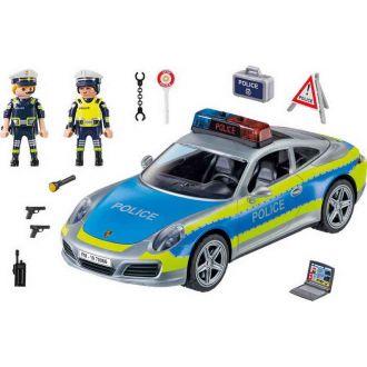 Playmobil 70066 City Action: Porsche 911 Carrera 4S Αστυνομικό όχημα