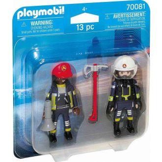 Playmobil 70081 Πυροσβέστες ΕΜΑΚ Duo pack