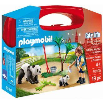 Playmobil 70105 City Life: Βαλιτσάκι Φροντίζοντας τα Πάντα