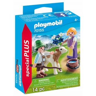 Playmobil 70155 Special Plus - Παιδάκια με μοσχαράκι