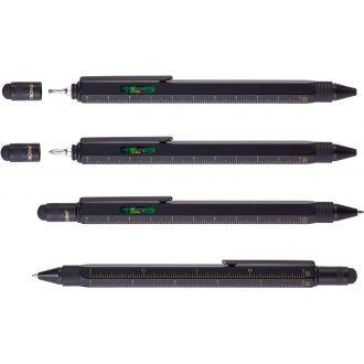 Troika Construction Pen Black Gold PIP20/BG