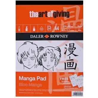 Daler Rowney Manga pad A4 70gr 50 Φύλλων (435270400)