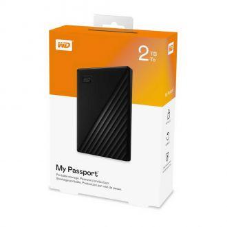 WD εξωτερικός δίσκος 2,5'' pass USB3 2TB Black