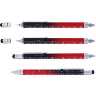 Troika Construction Pen Black Red PIP20/BK-RD