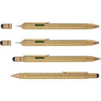 Troika Construction Pen Antique Brass PIP20/AB