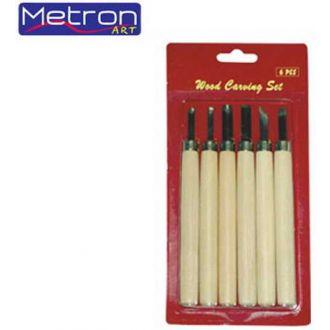 Metron εργαλεία χαρακτικής σετ 6τμχ.