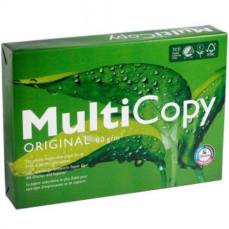 MultiCopy Χαρτί Εκτύπωσης Α4 80gr. 500Φ Λευκό