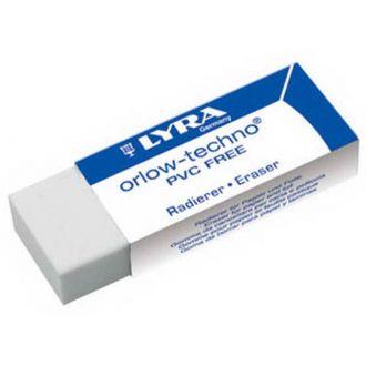 LYRA Γόμα λευκή Orlow-techno 007410200