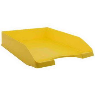 Metron Δίσκος γραφείου πλαστικός Παστέλ Κίτρινο 745.088748