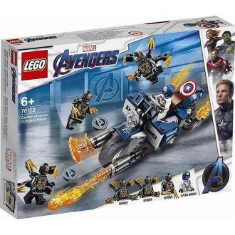 Lego 76123 Captain America: Outriders Attack