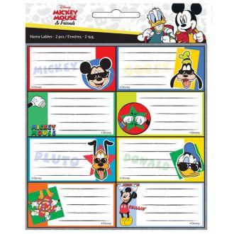 GIM ετικέτες τετραδίου 16pcs. Mickey and Friends 773-00246