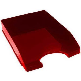 Metron Δίσκος γραφείου πλαστικός Κόκκινος 745.800R