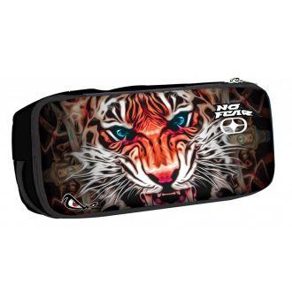 BMU Κασετίνα βαρελάκι οβάλ No Fear - Indian Tiger 347-76141