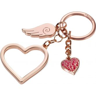 "Troika Μπρελόκ ""Love is in the Air"" Rose Gold KR17-01/RG"