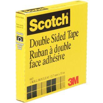3M Scotch Σελοτεϊπ Διπλής Όψης 665 12mm x 33m