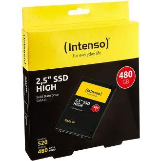 """Intenso Εσωτερικός σκληρός δίσκος SSD 480GB SATA III HIGH 2.5"""" (3813440)"""